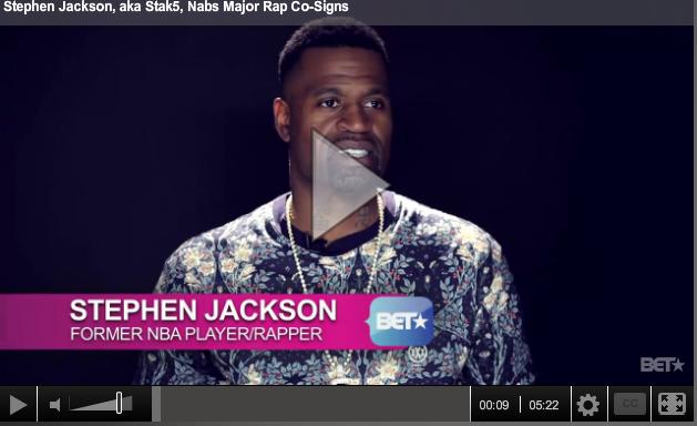 Music News: Stephen Jackson, aka Stak5, Nabs Major Rap Co-Signs