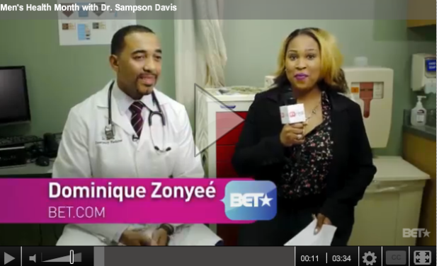 B* Real: Men's Health Month with Dr. Sampson Davis
